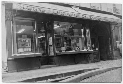 La librairie dans les années 60