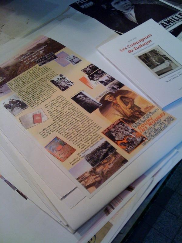 exposition pierre very - par noel very - librairie Le flaneur des deux rives