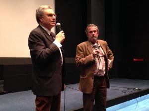 Serge Toubiana et Noël Véry
