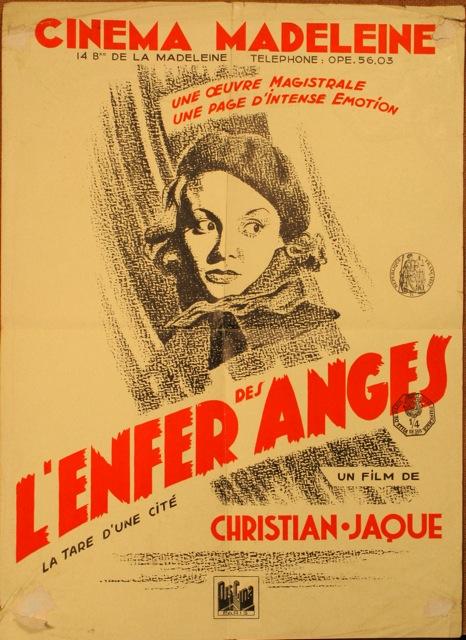 Affiche de L'Enfer des Anges